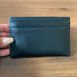 Chanel Black Caviar Cardholder